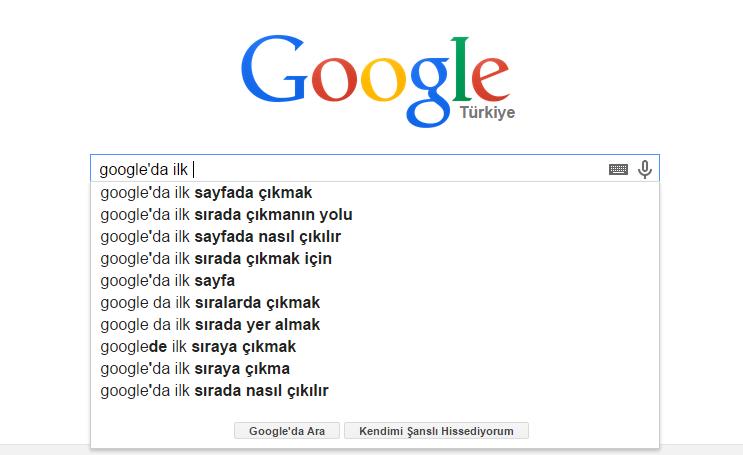 google'da ilk sýraya nasýl çýkýlýr